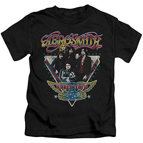 triangoli Maglietta Young Aerosmith nera Stars T57Fpqw