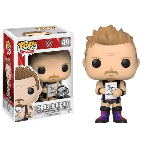 Funko POP Chris Jericho FYE Exclusive #40 Purple Costume Variant (Horse And Rider Costumes For Sale)