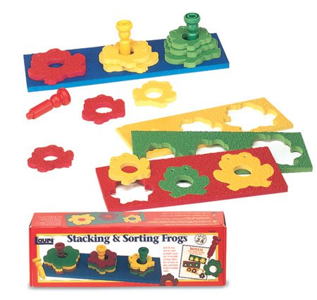 Stacking & Sorting Frogs ()