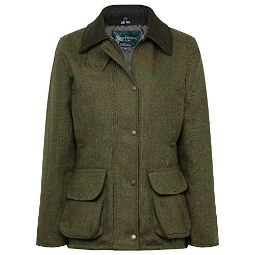 Ladies Clothing Forest Jacket Tweed New FqvwEXF