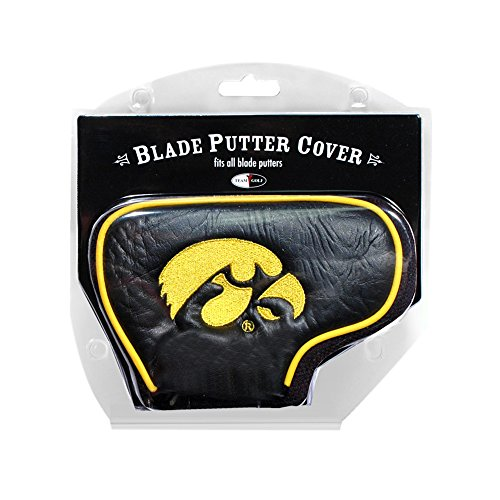 Team Golf Iowa Hawkeyes NCAA Putter Cover - - Iowa Hawkeyes Putter Golf