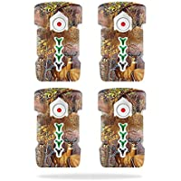 Skin For DJI Inspire 1 Drone Battery (4 pack) – Deer Pattern | MightySkins Protective, Durable, and Unique Vinyl Decal wrap cover | Easy To Apply, Remove, and Change Styles | Made in the USA