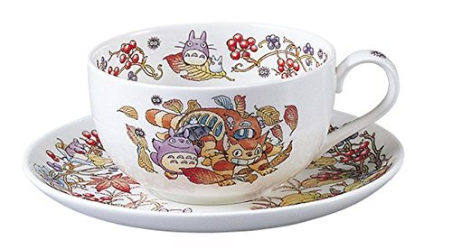 Noritake X Studio Ghibli Neighbor Totoro Tea Cup and Saucer T97285A/4660-6 ()