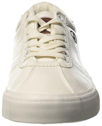 Lth Set Bianco Sneaker Uomo Collo a Sergio Tacchini Basso EqtC5HwcRx