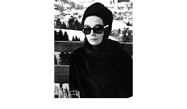 26213a61a5bf6 Amazon.com  Audrey Hepburn Charade In Sunglasses 16X20 Canvas Giclee   Posters   Prints