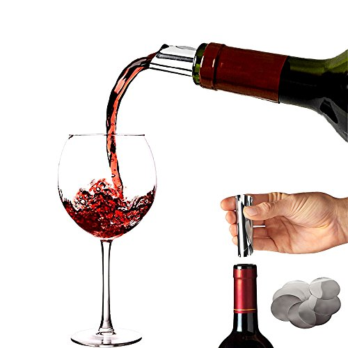 Drip Stop - Pack of 50 Wine Pourer Drop Stopping Pour Disk