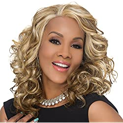CANDI-V (Vivica A. Fox) - Synthetic Lace Front Wig in DARK BROWN