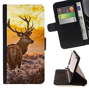 Momo Phone Case / Flip Funda de Cuero Case Cover - Resplandeciente ciervos;;;;;;;; - Sony Xperia Z1 L39