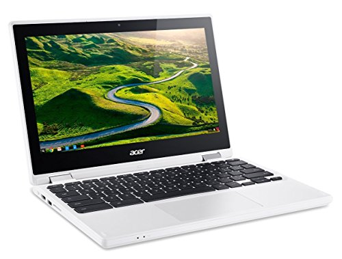 Acer R11 Convertible 2-in-1 Chromebook, 11.6″ HD Touchscreen, Intel Quad-Core N3150 1.6Ghz, 4GB Memory, 32GB SSD, Bluetooth, Webcam, Chrome OS (Certified Refurbished)
