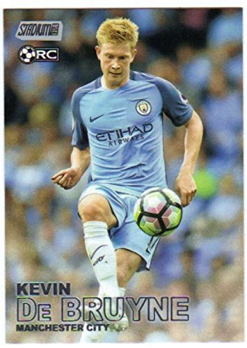 Club Football Stadium (Soccer Pro 2016-17 Topps Stadium Club Premier League #75 Kevin De Bruyne)