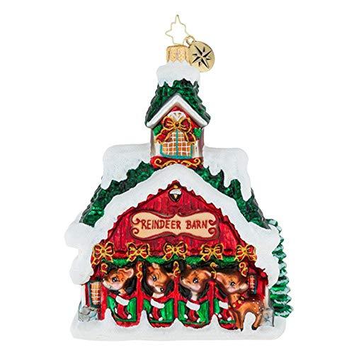 Deer Radko Christopher (Christopher Radko Goodnight Donner, Goodnight Blitzen! Christmas Ornament)