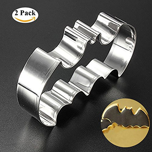 Liangxiang Color Stainless Steel Batman Bat Wing Hero Mold Cake Chocolate Mould Cutter ()