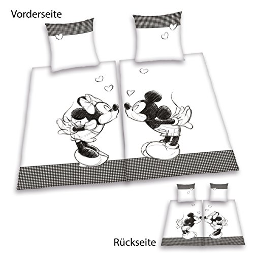 herding 447862250 partner bettwsche mickey mouse und. Black Bedroom Furniture Sets. Home Design Ideas