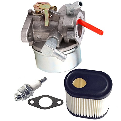 13566 Carburetor 36905 Air Filter & RJ19LM Spark Plug Kit for Tecumseh 640350, 640303, 640271 free shipping