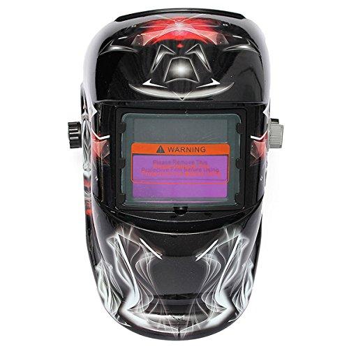 Cool Pro Auto Darkening Welding Helmet Arc Tig mig Grinding Welders Mask Solar