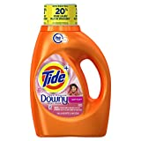 Tide Plus Downy HE Turbo Clean Liquid Laundry Detergent, April Fresh Scent, 1.36 L (29 Loads)