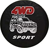 Best Toyota Tire Covers - 4WD Pattern 17 Inch Tire Cover Tyre Cover Review