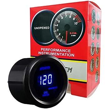 Amazon.com: HOTSYSTEM Electronic Universal OIL Pressure Press Gauge on