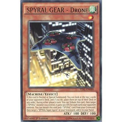Amazon.com: Deckboosters YuGiOh : TDIL-EN088 1st Ed SPYRAL ...