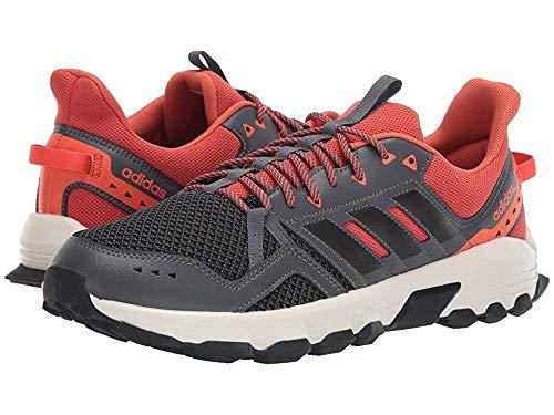 adidas Running Men's Rockadia Trail Grey Six/Black/Raw Amber 8.5 D US ()