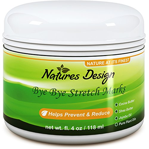 Effective Stretch Mark & Scar Fading Cream - Reduces Pregnancy Stretch Marks & Fades Scars, Fine...