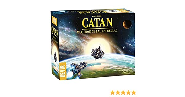 Devir- Catan Viajeros de Las Estrellas (BGCATVESP): Amazon.es: Juguetes y juegos