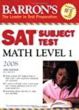 Barron's SAT Subject Test Math Level 1, Ira K. Wolf, 0764137018