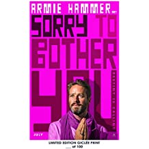 Lost Posters RARE POSTER armie hammer SORRY TO BOTHER YOU lakeith stanfield REPRINT #'d/100!! 12x18