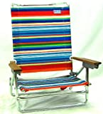 RIO Sand Chair 5 Position Lay Flat Caribbean Sky