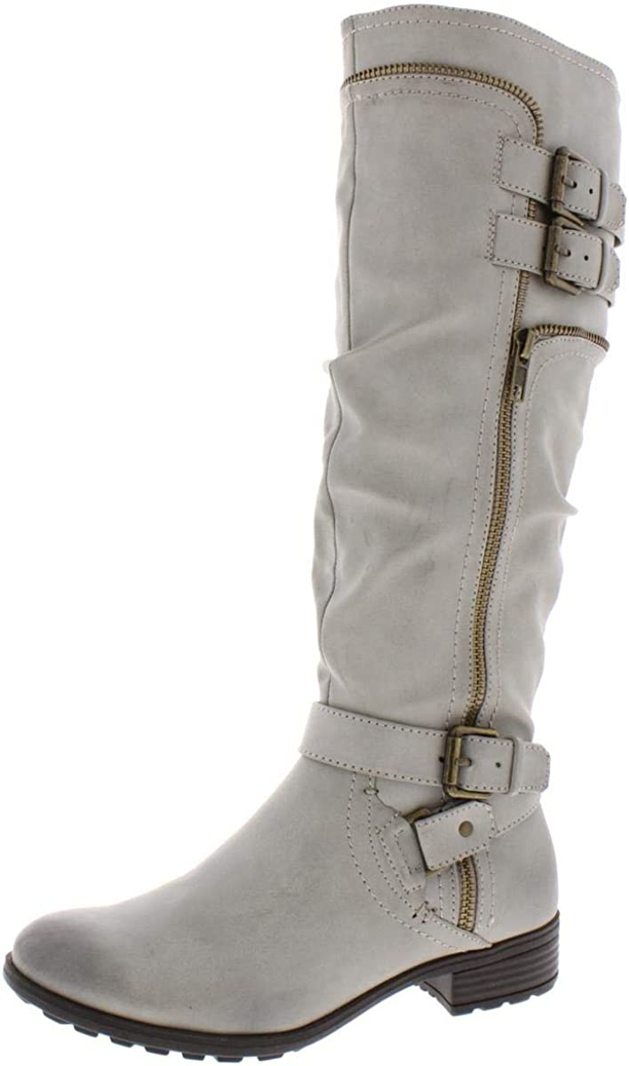 WHITE MOUNTAIN Womens Remi Leather