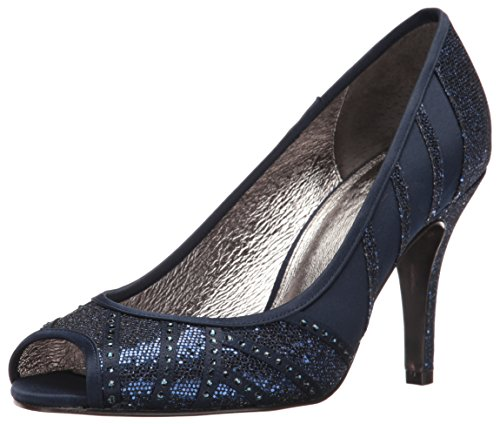 Adrianna Papell Women's Flair Dress Pump, Navy, 8 UK/8 M US