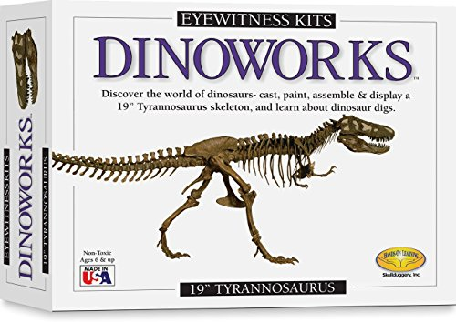 Skullduggery Eyewitness Kits Perfect Cast Dinoworks 19