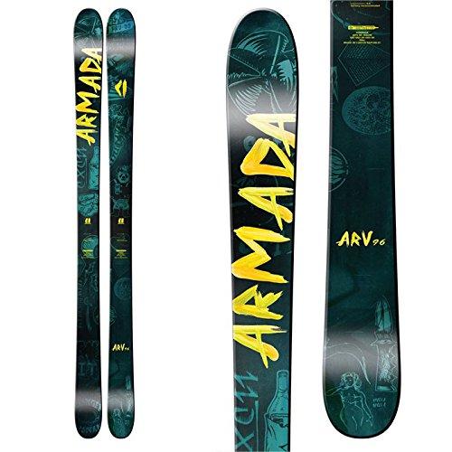 Skis Tip Carbon Twin (Armada ARV 96 Skis 2017 - 163cm)