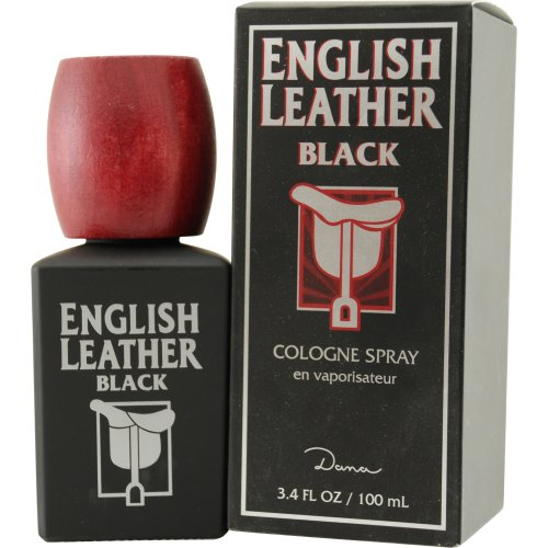 English Leather Black by Dana for Men 3.4 oz Cologne - English Black Cologne Leather