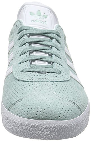 Grün White Footwear Tactile Gazelle Green Metallic Damen Gold Sneakers adidas H0xwtqUnv