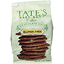 Tate's Bake Shop Gluten Free Chocolate Chip Cookies, 7oz Bag, Pack of 3