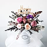 RoseRena Romance Eternal Roses Bloom Box - Handmade with preserved flower forever roses blossoming for 3 years perfect gift for her