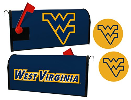 West Virginia Mountaineers Magnetic Mailbox Cover & Sticker Set ()