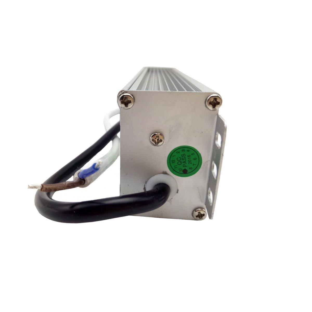 DC Out 12V 6.67Amp Lighting Transformer 80.0 Watts//IP67 LEDSoneTransformer 80Watts/_ LED Strip Module Driver/_ DC12V Power Supply/_ Outdoor Lighting IP67 Waterproof Ac in 90-265V