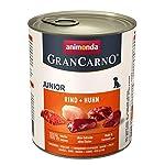 animonda-GranCarno-Junior-cibo-per-cani-alimento-umido-per-cani-in-crescita-manzo-pollo-6-x-800-g