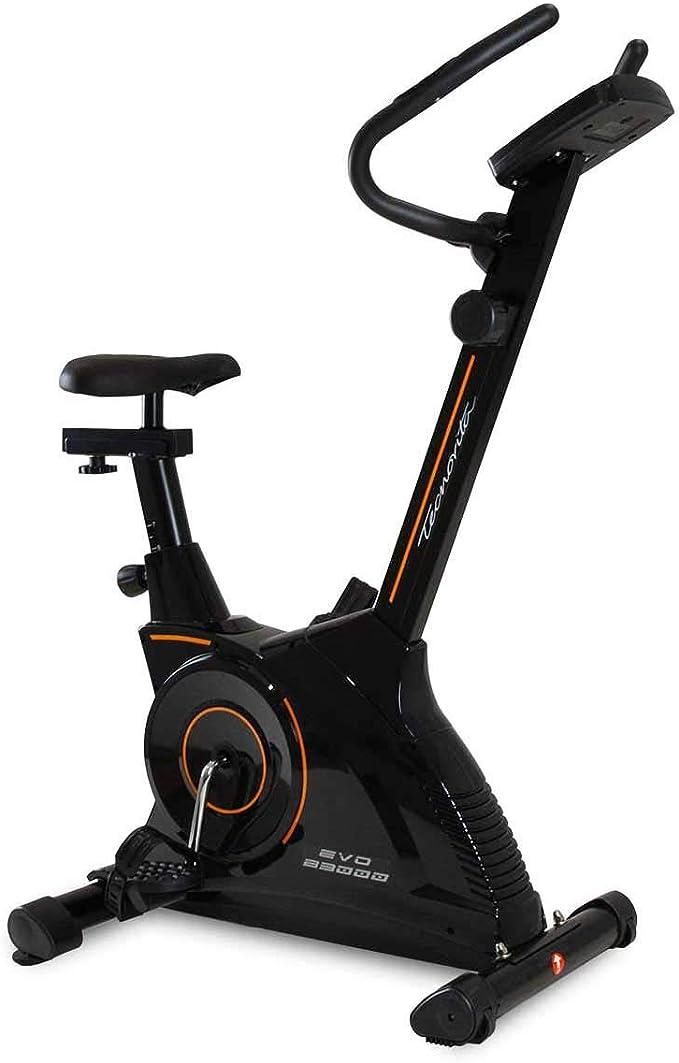 Tecnovita - Bicicleta estática EVO B3000 YH3000. Magnética, Volante de 7 Kg. 8 Niveles manuales: Amazon.es: Deportes y aire libre