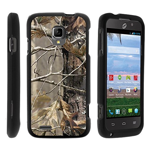 MINITURTLE Case Compatible w/ ZTE Rapido LTE Case, Perfect Fit Cell Phone Case Hard Cover w/ Cute Design Patterns for ZTE Rapido LTE Z932L - Fallen Leaves - Cover Rapido Lte Zte For Phone