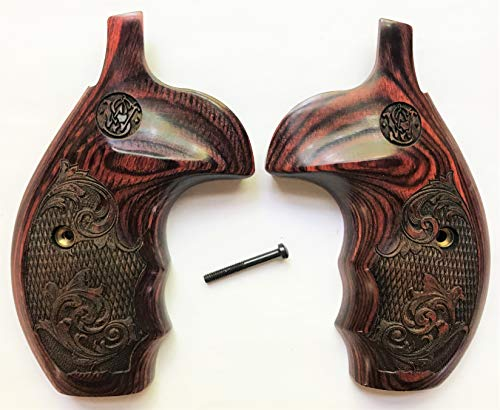 Gun Grip Supply Smith & Wesson S&W K/L/X Frame Grips Rosewood Engraved with S&W Logo (Smith & Wesson 686 Plus For Sale)