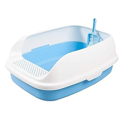 WLIXZ Caja de Arena semicerrada, baño para Gatos, Olla para Gatos, baño para