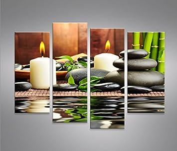 Zen Stones 4 Quadri moderni su tela - pronti da appendere ...