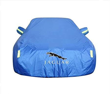 Car Cover Compatible with Jaguar F-pace XFL XE XJ XKR F-type Sun Protection Rain Oxford Car Cover Color : Black, Size : F-type