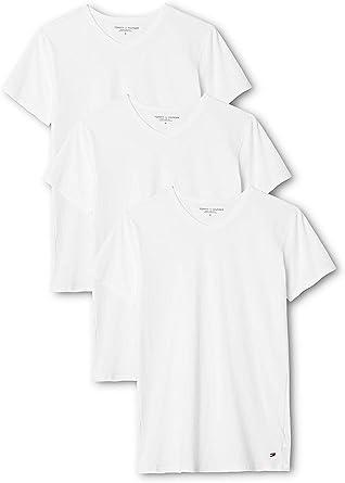 Tommy Hilfiger Camiseta (Pack de 3) para Hombre: Amazon.es: Ropa y ...