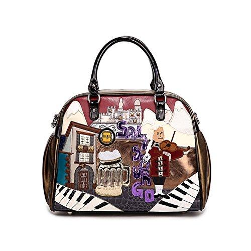 Hipytime BHB880393C1 Fashion PU Leather FIG. Women's Handbag,Dumplings Type - Gardens Macys Victoria
