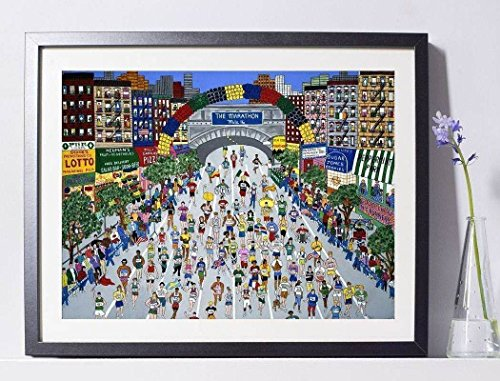 'NYC Marathon' Art Painting Print Pat Singer New York PSNY - Home - Nyc Locations Macys