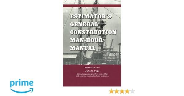 Estimators Equipment Installation Man-hour Manual Pdf